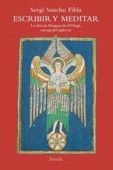 Escribir y meditar - Sergi Sancho Fibla - Siruela