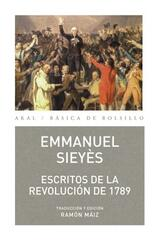 Escritos de la Revolución de 1789 - Emmanuel-Joseph Sieyès - Akal