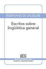 Escritos sobre lingüística general - Ferdinand Saussure, de - Editorial Gedisa