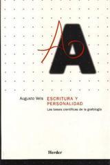 Escritura y personalidad - Augusto Vels - Herder