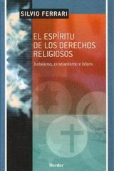 El Espíritu de los derechos religiosos - Silvio Ferrari - Herder