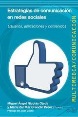 Estrategias de comunicación en redes sociales -  AA.VV. - Editorial Gedisa