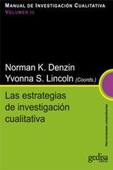 Las estrategias de investigación cualitativa -  AA.VV. - Editorial Gedisa