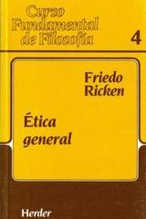 Ética general - Friedo Ricken - Herder