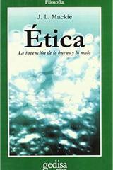 Ética - J. L. Mackie - Editorial Gedisa