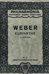 Euryanthe (ouverture) - Weber -  AA.VV. - Otras editoriales