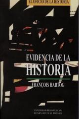 Evidencia de la historia - Francois Hartog - Ibero
