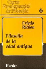 Filosofía de la edad antigua - Friedo Ricken - Herder