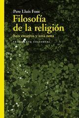 Filosofía de la religión - Pere Lluís Font - Fragmenta