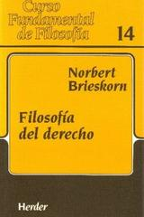 Filosofía del derecho - Norbert Brieskorn - Herder