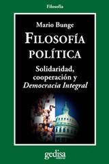 Filosofía política - Mario Bunge - Editorial Gedisa