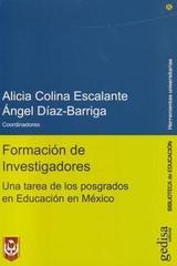 Formación de investigadores - Alicia Colina Escalante - Editorial Gedisa