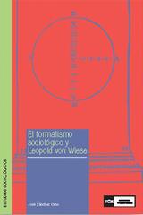 El Formalismo sociológico y Leopold von Wiese - José Sánchez Cano - Complutense