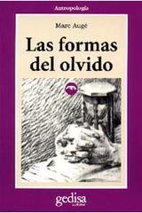 Las formas del olvido - Marc Augé - Editorial Gedisa