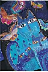 Gatos azules y mariposas Laurel Burch - Mini -  Paperblanks - Paperblanks