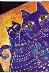 Gatos mediterraneos Laurel Burch - Mini -  Paperblanks - Paperblanks