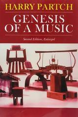 Genesis of a music - Harry Partch -  AA.VV. - Otras editoriales