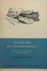 Gesprache mit componisten -  AA.VV. - Otras editoriales