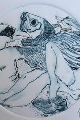 Encuentro de Psique con Amor - Rossana Cervantes Vázquez - Grabados