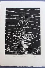Lluvia de pelicanos - Rossana Cervantes Vázquez - Grabados
