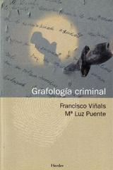 Grafología criminal - Francisco Viñals - Herder