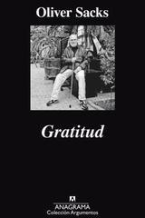 Gratitud - Oliver Sacks - Anagrama