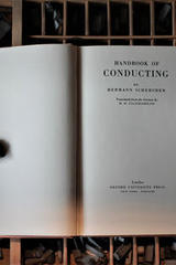 Handbook of Conducting -  Hermann Scherchen -  AA.VV. - Otras editoriales