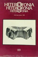 Heterofonía #89 -  AA.VV. - Otras editoriales