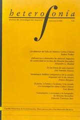 Heterofonía no.122 -  AA.VV. - Otras editoriales