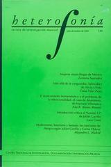 Heterofonía no.123 -  AA.VV. - Otras editoriales