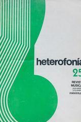Heterofonía no.25 -  AA.VV. - Otras editoriales