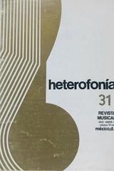 Heterofonía  no.31 -  AA.VV. - Otras editoriales