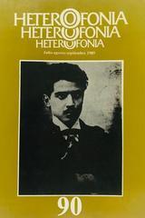 Heterofonía no.90 -  AA.VV. - Otras editoriales