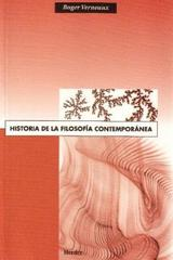 Historia de la filosofía contemporánea - Roger Verneaux - Herder
