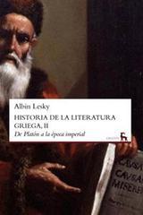 Historia de la Literatura Griega II - Albin Lesky - Gredos