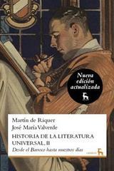Historia de la literatura universal II - Martín De Riquer - Gredos
