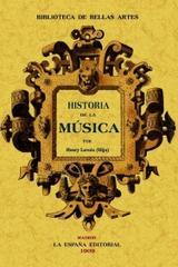 Historia de la música - Henry Lavoix - Maxtor