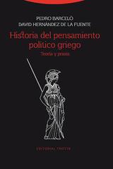 Historia del pensamiento político griego - Pedro Barceló - Trotta