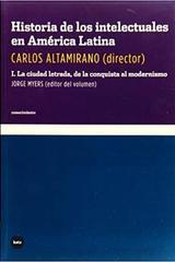 Historia de los intelectuales en américa latina I - Carlos Altamirano - Katz