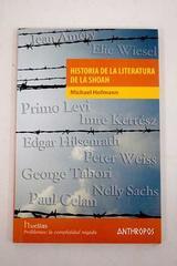 Historia de la literatura de la Shoah - Michael Hofmann - Anthropos