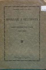 Homenaje a Beethoven -  AA.VV. - UNAM