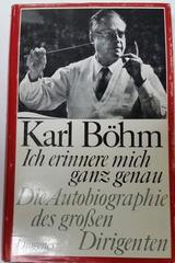 Ich erinnere mich ganz genau -  Karl Bohm -  AA.VV. - Otras editoriales