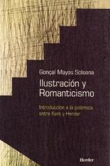 Ilustración y Romanticismo - Gonçal Mayos Solsona - Herder