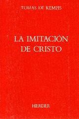 La Imitación de Cristo - Tomás de Kempis - Herder