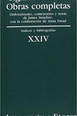 XXIV. Índices y bibliografías - Sigmund Freud - Amorrortu