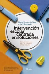 Intervención escolar centrada en soluciones -  AA.VV. - Herder