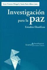 Investigación para la paz -  AA.VV. - Icaria