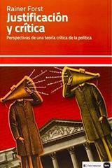 Justificacion y critica - Rainer Forst - Katz