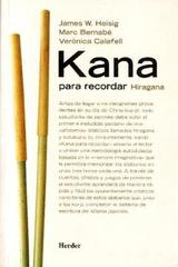 Kana para recordar  - James Wallace Heisig - Herder
