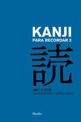 Kanji para recordar 2 -  AA.VV. - Herder